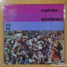 Discos de vinilo: MARIMBA - ARPA LLANERA - LP. Lote 109572107