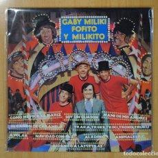 Discos de vinilo: GABY, MILIKI, FOFITO Y MILIKITO - GABY, MILIKI, FOFITO Y MILIKITO - LP. Lote 109572499