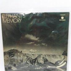 Discos de vinilo: LP ** ELEPHANT MEMORY ** ELEPHANT MEMORY ** COVER/ VERY GOOD+ ** LP/ VERY GOOD+ ** 1973. Lote 109575547