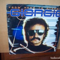 Discos de vinilo: GIORGIO - FROM HERE TO STERNITY - LP CARPETA MUY USADA 1977. Lote 109587731