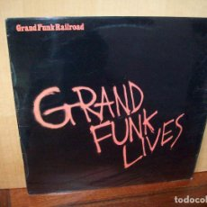 Discos de vinilo: GRAND FUNK RAILROAD - LIVES - LP 1981. Lote 109589303