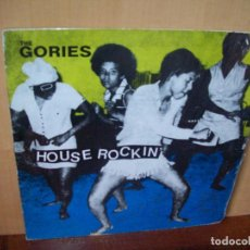 Discos de vinilo: THE GORIES -HOUSE ROCKIN - LP FABRICADO EN FRANCIA . Lote 109593811