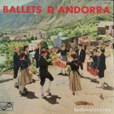 Discos de vinilo: BALLETS D'ANDORRA - COBLA MARAVELLA - LP DE VINILO ZAFIRO 1975. Lote 109597711