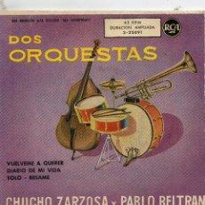 Discos de vinilo: EP GRABADO EN MÉJICO Y FABRICADO EN ESPAÑA - CHUCHO ZARZOSA Y PABLO BELTRÁN - 4 TEMAS. Lote 109600383