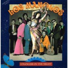 Discos de vinilo: LOS MANOLOS - STRANGERS IN THE NIGHT / ESA RUMBA VA / EL MUERTO VIVO - MAXISINGLE 1991. Lote 109612687
