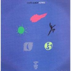 Discos de vinilo: LLUIS LLACH - ASTRES - LP 1986 - PROMO. Lote 109617439