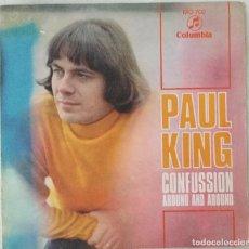 Discos de vinilo: PAUL KING.- SG CONFUSSION PROMO 1969 COLUMBIA PEPE NIETO. Lote 109618639