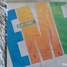 Discos de vinilo: SINGLE EMF.UNBELIEVABLE. PARLOPHONE 1990. COMO NUEVO. Lote 109642879