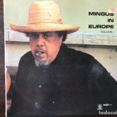 Discos de vinilo: MINGUS IN EUROPE. VOLUME 1. Lote 109694203