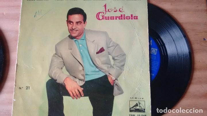 E P (VINILO) DE JOSE GUARDIOLA AÑOS 60 (Música - Discos de Vinilo - EPs - Solistas Españoles de los 50 y 60)