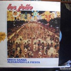 Discos de vinilo: MAXI - LOS JOAO - DISCO SAMBA / ALGRANDO LA FIESTA (MEDLEYS) (SPAIN, BELTER 1983). Lote 109728451