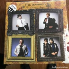 Discos de vinilo: DAMNED - THE CHISWICK SINGLES... AND ANOTHER THING - LP DOBLE LTEV 2016 NUEVO - VINILO BLANCO. Lote 109731443