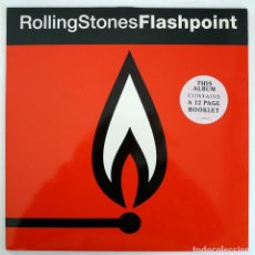 Discos de vinilo: LP - THE ROLLING STONES - FLASHPOINT - CBS/SONY (COL 468135 1) 1991 - CON LIBRETO 12 PAG. - MINT. Lote 109736999