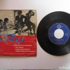 Discos de vinilo: THE KINKS. CANSADO DE ESPERARTE, (TIRED OF WAITING FOR YOU) + 3 TEMAS. RCA ESPAÑOLA PYEP M-3681 1965. Lote 109742075