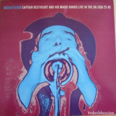 Discos de vinilo: CAPTAIN BEEFHEART AND HIS MAGIC BAND: MAGNETICISM, LIVE IN THE U.K. / U.S.A. 1972 - 1981.. Lote 109753979
