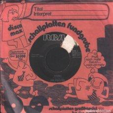 Discos de vinilo: JIM REEVES - FOUR WALLS / BIMBO / SINGLE RCA DE 1956 RF-3422. Lote 109762131