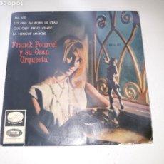 Discos de vinilo: FRANCK POURCEL Y SU GRAN ORQUESTA- EP MA VIE- EMI 1954 ESPAÑA 6. Lote 109762142