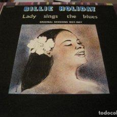 Discos de vinilo: LP-BILLIE HOLIDAY LADY SINGS THE BLUES FESTIVAL MARFER 108 SPAIN 1973 DOBLE LP JAZZ. Lote 109763223