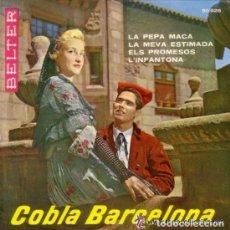 Discos de vinilo: COBLA BARCELONA - LA PEPA MACA - EP BELTER 1960. Lote 109763267