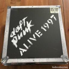 Discos de vinilo: DAFT PUNK - ALIVE 1997 - LP REEDICIÓN PARLOPHONE NUEVO . Lote 109768759