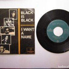 Discos de vinilo: LOS BRAVOS - BLACK IS BLACK - COLUMBIA - ME 265 - SPAIN - 1966 - POP, ROCK S.S. 453. Lote 109770831