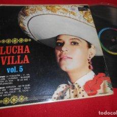 Disques de vinyle: LUCHA VILLA CON MARIACHI GUADALAJARA Y MARIACHI MEXICO VOL.5 LP MUSART EDICION MEXICO. Lote 109774071