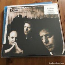 Discos de vinilo: PHILIP GLASS / DAVID BOWIE / BRIAN ENO - LOW SYMPHONY (1993)- LP REEDICIÓN MUSIC ON VINYL 2014 NUEVO. Lote 109787847