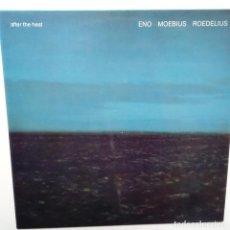 Discos de vinilo: ENO, ROEDELIUS, MOEBIUS- AFTER THE HEAT- GERMAN LP 1978- BRIAN ENO- VINILO EXC. ESTADO.. Lote 109819051