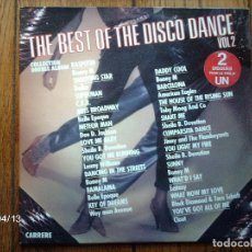 Discos de vinilo: THE BEST OF THE DISCO DANCE - VOL 2 EDICIÓN FRANCESA . Lote 109825895
