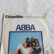 Discos de vinilo: ABBA CHIQUITITA. Lote 109833003