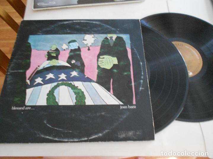 JOAN BAEZ ?– LP DOBLE BLESSED ARE-PORT.ABIERTA-1972 (Música - Discos - LP Vinilo - Pop - Rock Extranjero de los 50 y 60)
