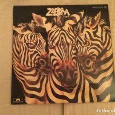 Discos de vinilo: DISCO VINILO ZZEBRA. PANIC . Lote 109889499