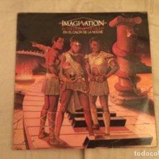 Discos de vinilo: DISCO VINILO IMAGINATION. IN THE HEAT OF THE NIGHT. Lote 109890951