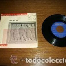 Discos de vinilo: COBLA LAIETANA – ANTOLOGIA DE LA SARDANA - BOU (1885-1962) EP 1962. Lote 109997695