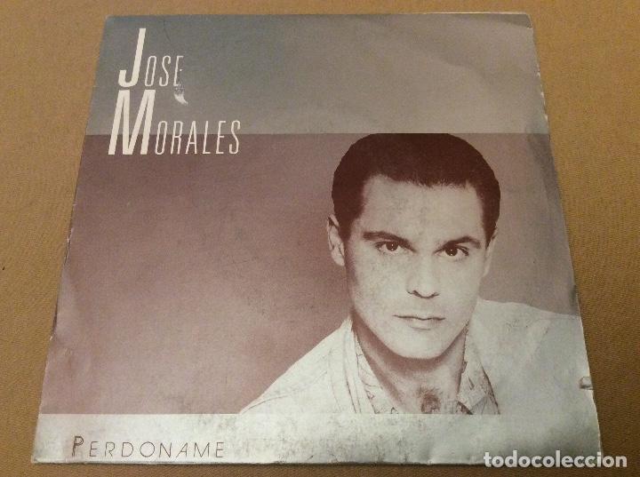JOSE MORALES-PERDONAME. EL DIA DESPUES DE LA NOCHE ANTERIOR. DIAL DISCOS 1990 PROMOCIONAL (Música - Discos - Singles Vinilo - Solistas Españoles de los 70 a la actualidad)
