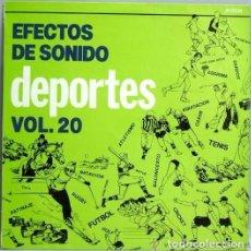 Discos de vinilo: EFECTOS DE SONIDO VOL. 20. Lote 110002655