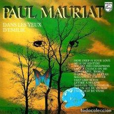 Discos de vinilo: PAUL MAURIAT – DANS LES YEUX D'EMILIE. Lote 110003287