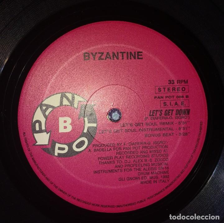 Discos de vinilo: Byzantine – Lets Get Down - Foto 2 - 110010511