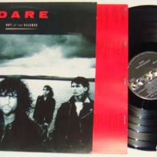 Discos de vinilo: LP - DARE - OUT OF THE SILENCE - DARREN WHARTON - THIN LIZZY - DARE. Lote 137264308