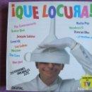 Discos de vinilo: LP - QUE LOCURA - VARIOS (DOBLE DISCO, POLYSTAR 1987, VER FOTOS ADJUNTAS). Lote 110018619