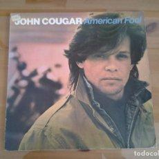 Discos de vinilo: JOHN COUGAR -AMERICAN FOOL - LP WEA ED. ESPAÑOLA 57004 MUY BUENAS CONDICIONES.. Lote 110019327