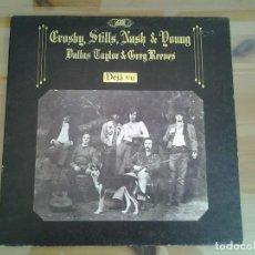 Discos de vinilo: CROSBY, STILLS, NASH &YOUNG -DEJA VU- LP ATLANTIC ED. ORIGINAL INGLESA 1970 2401001 MUY BUENAS CONDI. Lote 110020803
