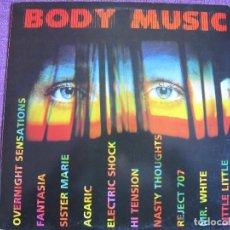 Discos de vinilo: LP - BODY MUSIC - VARIOS (SPAIN, FONOMUSIC 1989, VER FOTO ADJUNTA). Lote 110021095