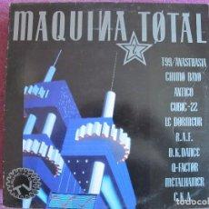 Discos de vinilo: LP - MAQUINA TOTAL - VARIOS (SPAIN, MAX MUSIC 1991). Lote 110021207