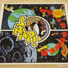 Discos de vinilo: SNAP! ( WORLD POWER ) 1990 - GERMANY LP33 LOGIC RECORDS. Lote 110022707