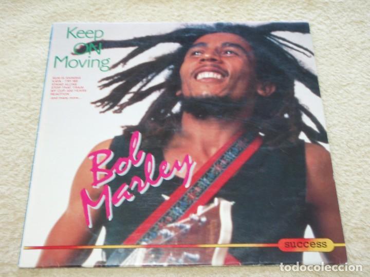 BOB MARLEY ?– KEEP ON MOVING, EUROPE 1989 SUCCESS (Música - Discos - LP Vinilo - Reggae - Ska)