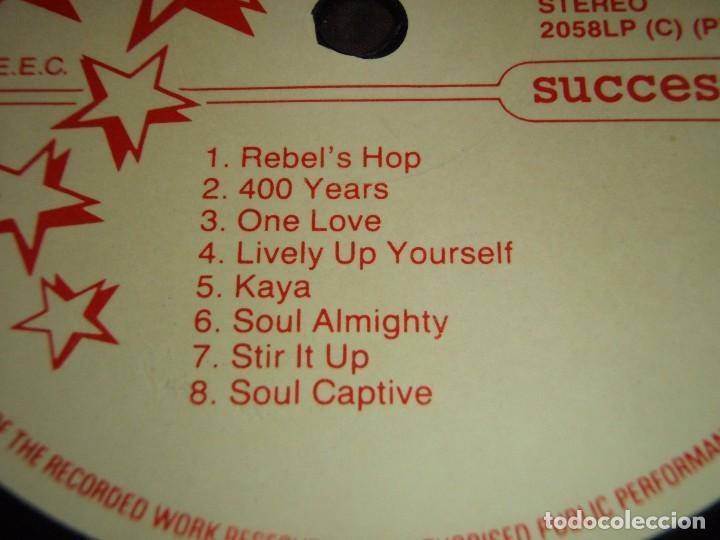Discos de vinilo: Bob Marley ?– Keep On Moving, Europe 1989 Success - Foto 3 - 110023339