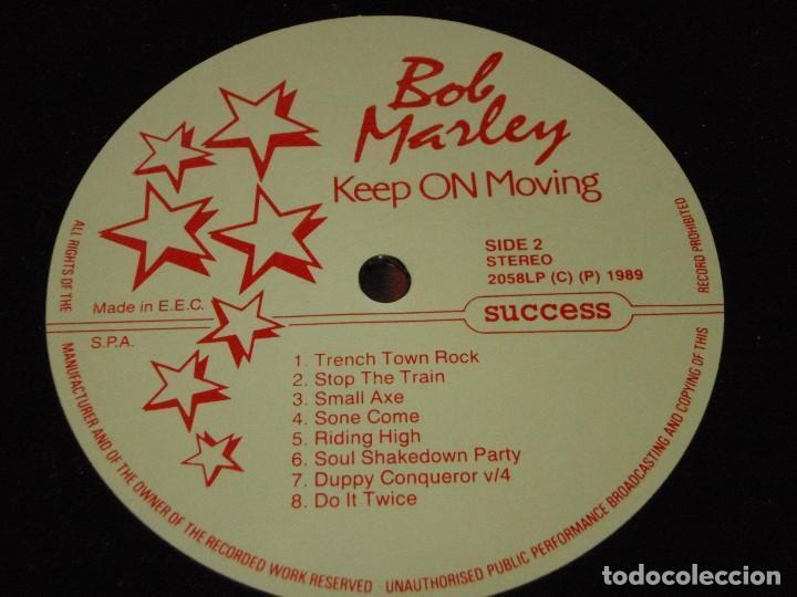 Discos de vinilo: Bob Marley ?– Keep On Moving, Europe 1989 Success - Foto 5 - 110023339