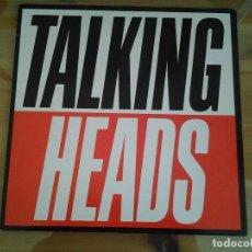 Discos de vinilo: TALKING HEADS - TRUE STORIES- LP EMI ED. ESPAÑOLA 1986 074-2406121 MUY BUENAS CONDICIONES.. Lote 110023399
