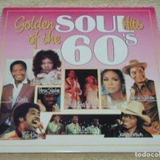 Discos de vinilo: GOLDEN OF THE HITS SOUL 60'S ( SAM COOKE - IKE & TINA TURNER - JAMES BROWN - ... ) BELGIUM LP33. Lote 110024199